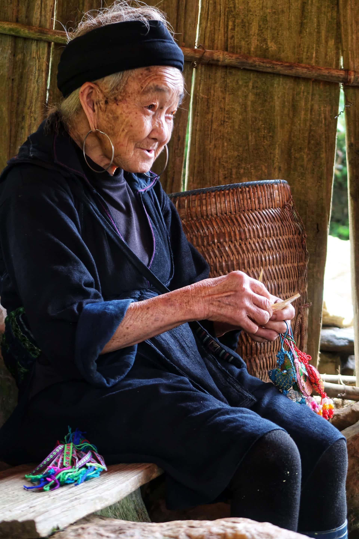 Lokale kvinde fra Sapa