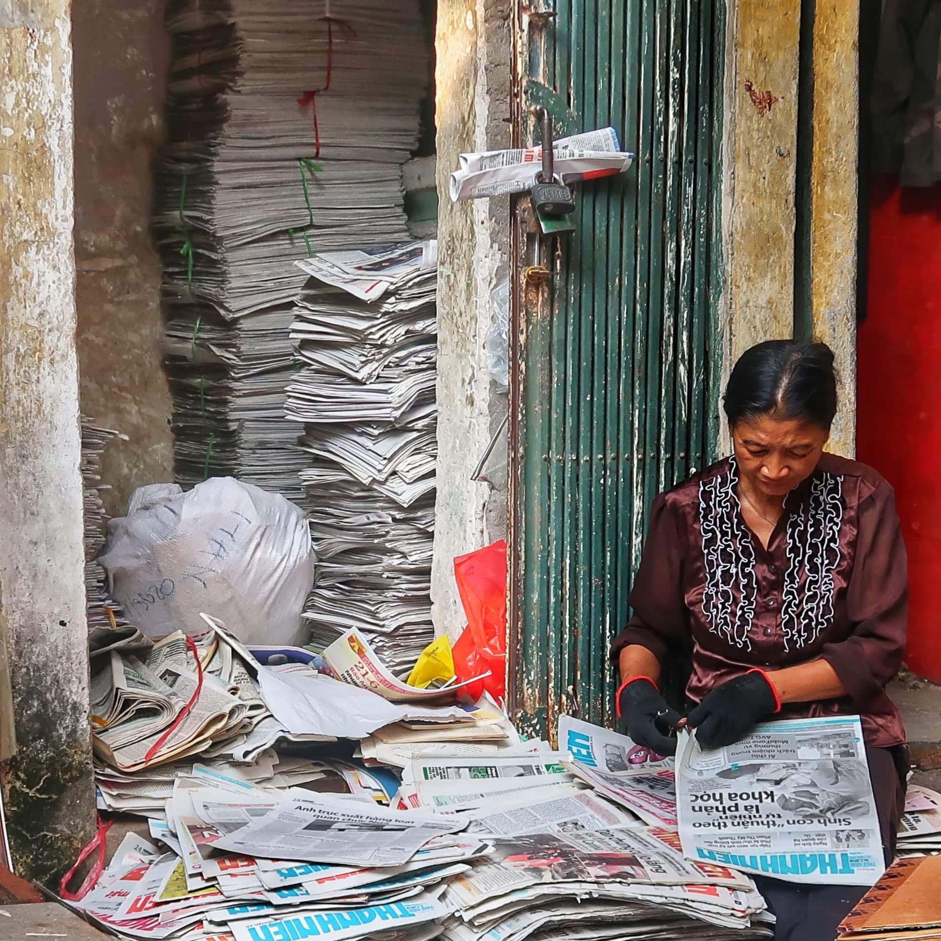Avissamler i Hanoi