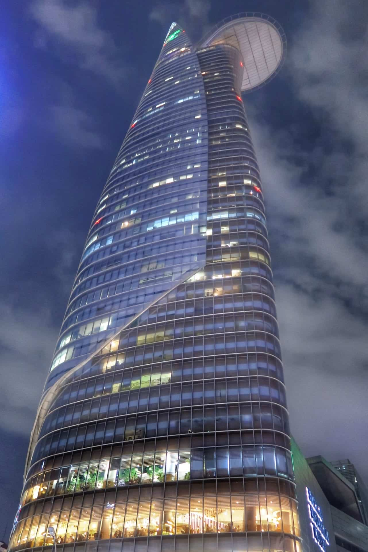 Bitexco Financial Tower i Ho Chi Minh