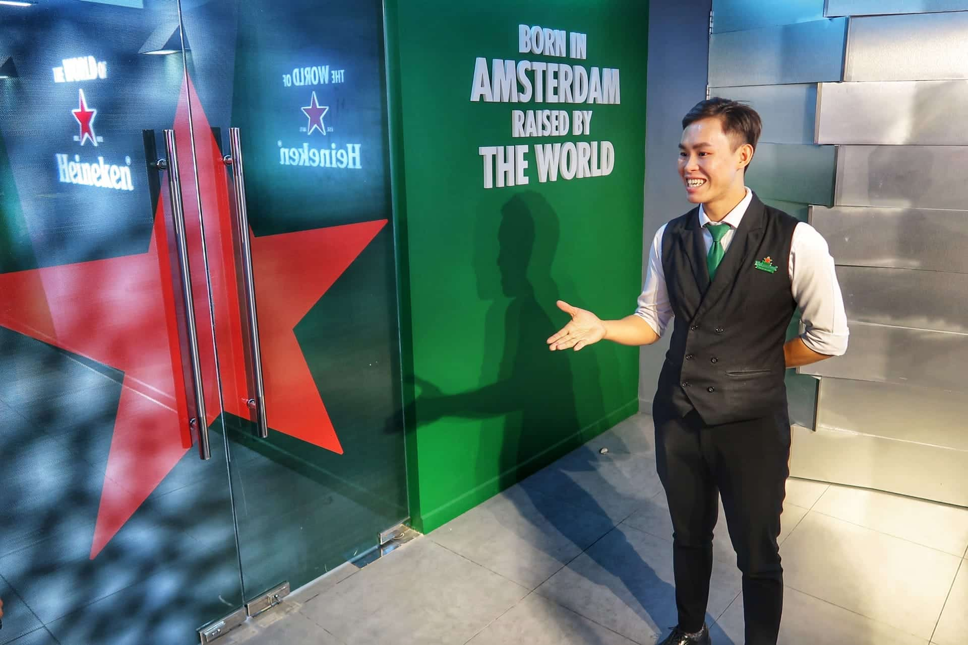 Heineken tour i Bitexco Financial Tower