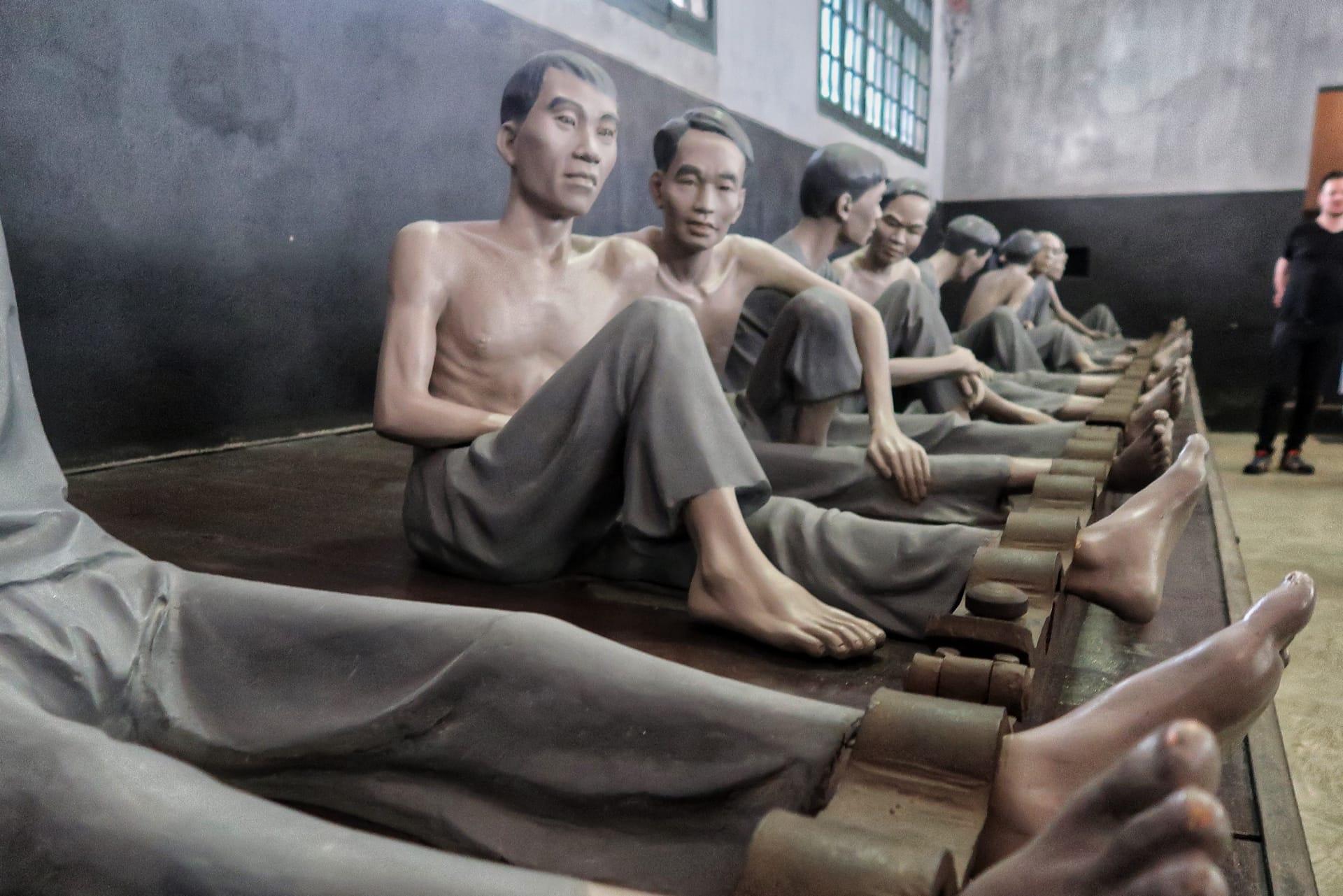 Hoa Lo fængsel - billede af fanger
