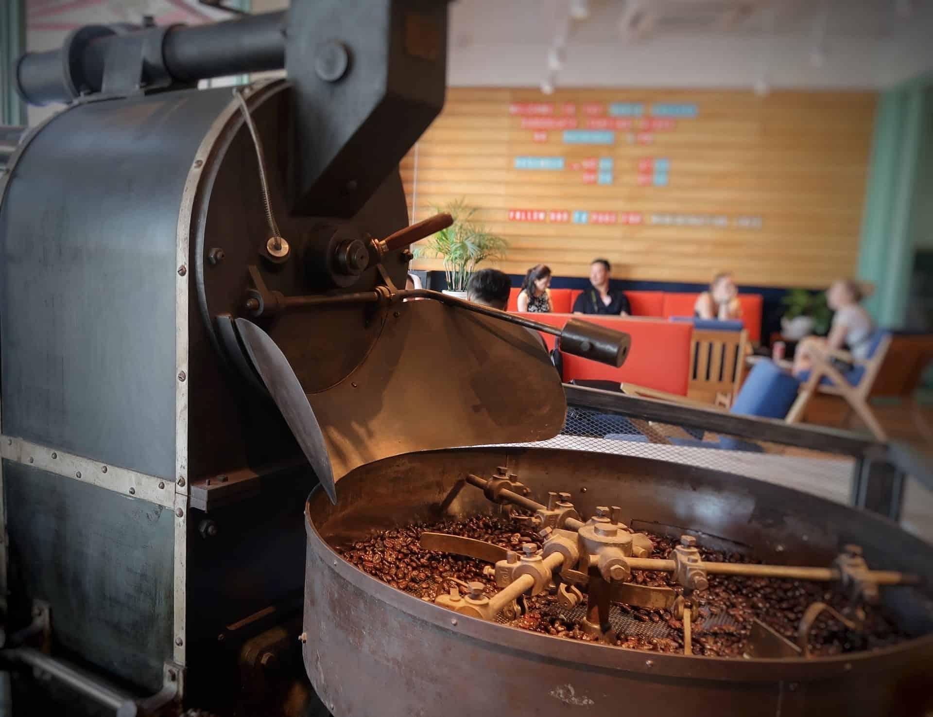 Kaffe på Maison Marou