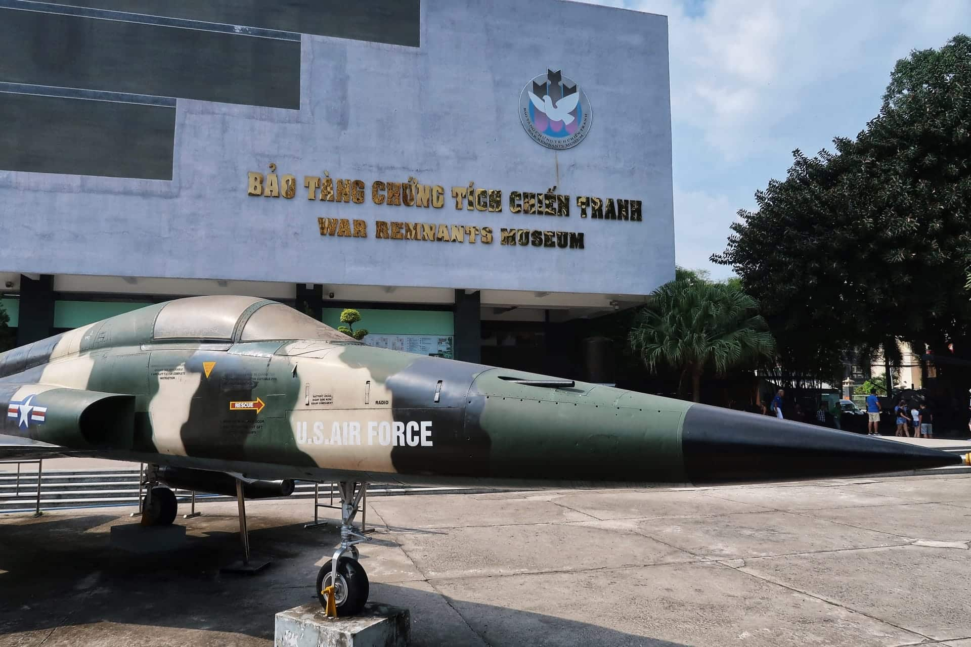 Krigsmuseum i Ho Chi Minh