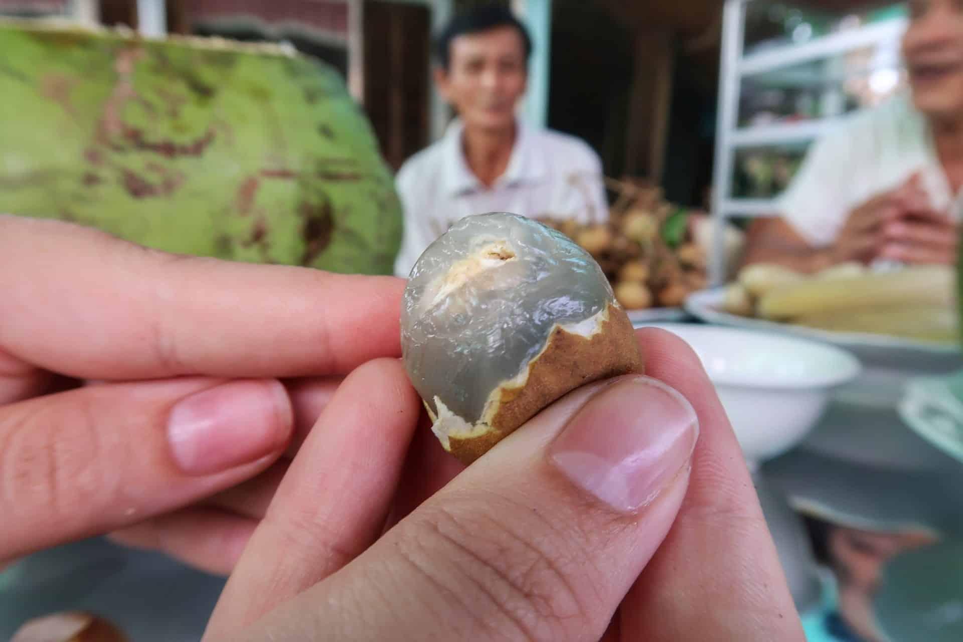Longan frugt