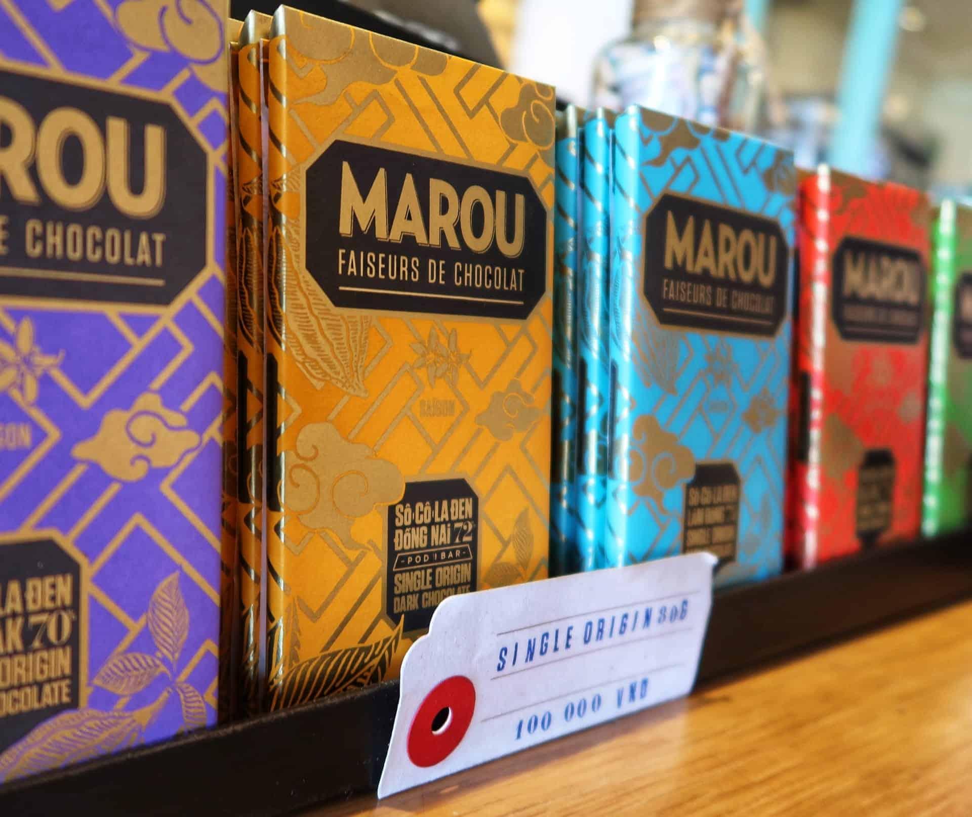 Maison Marous flotte chokolade plader