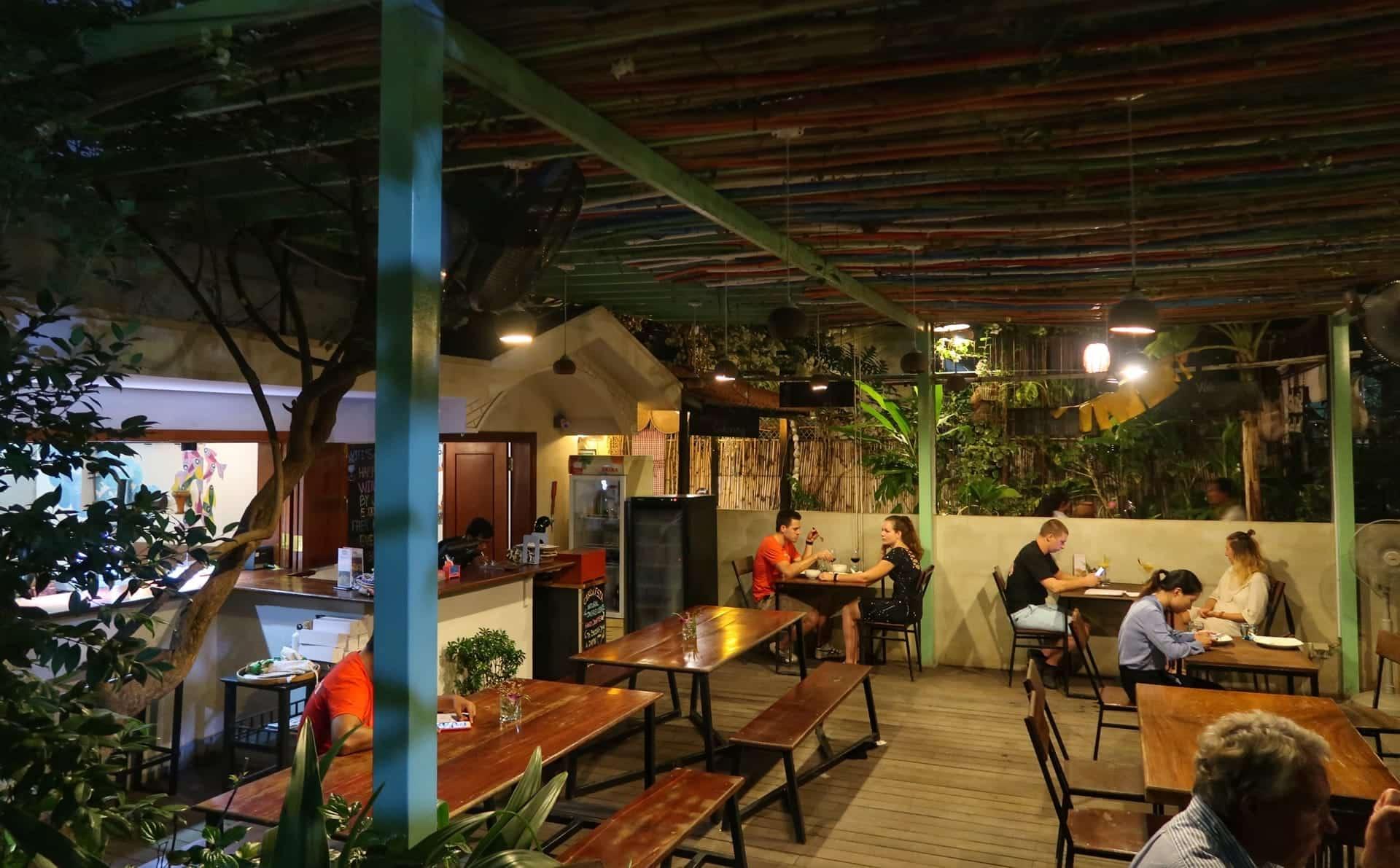 Restaurant Eleven i Phnom Penh
