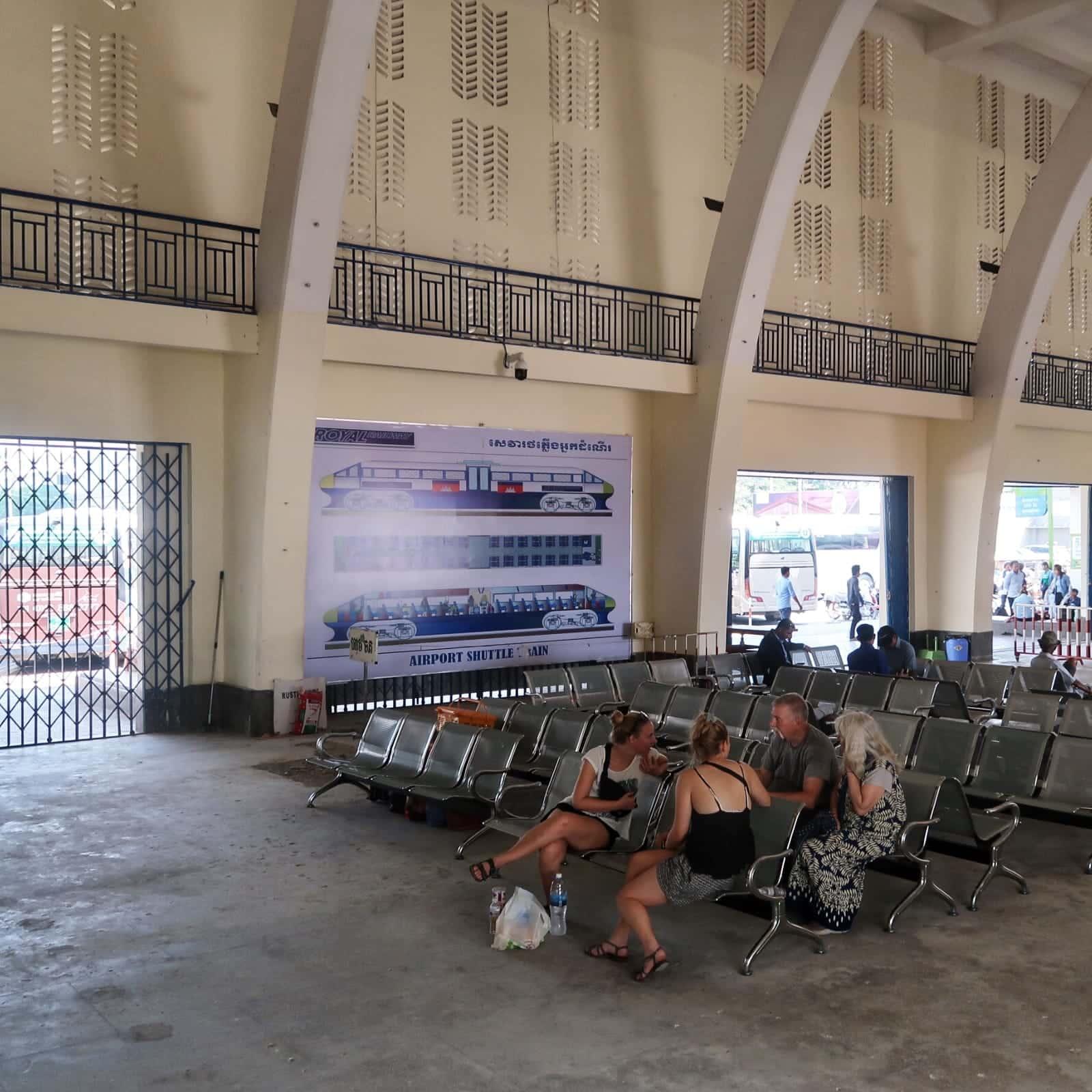 Royal Railway - Phnom Penh - Ventehal