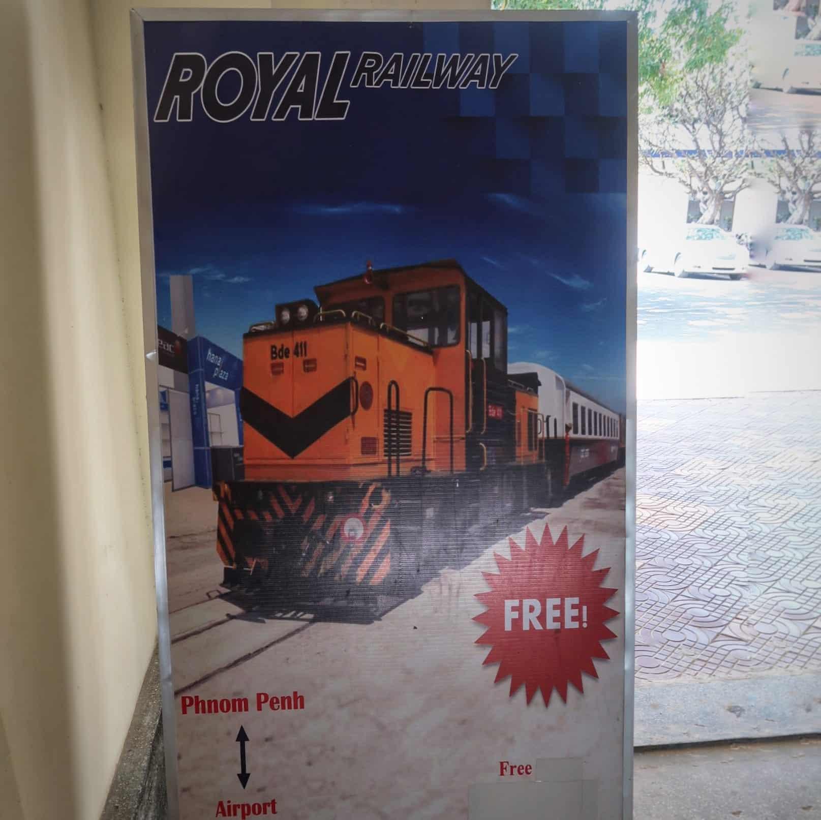 Royal Railway - fra Phnom Penh by til lufthavnen