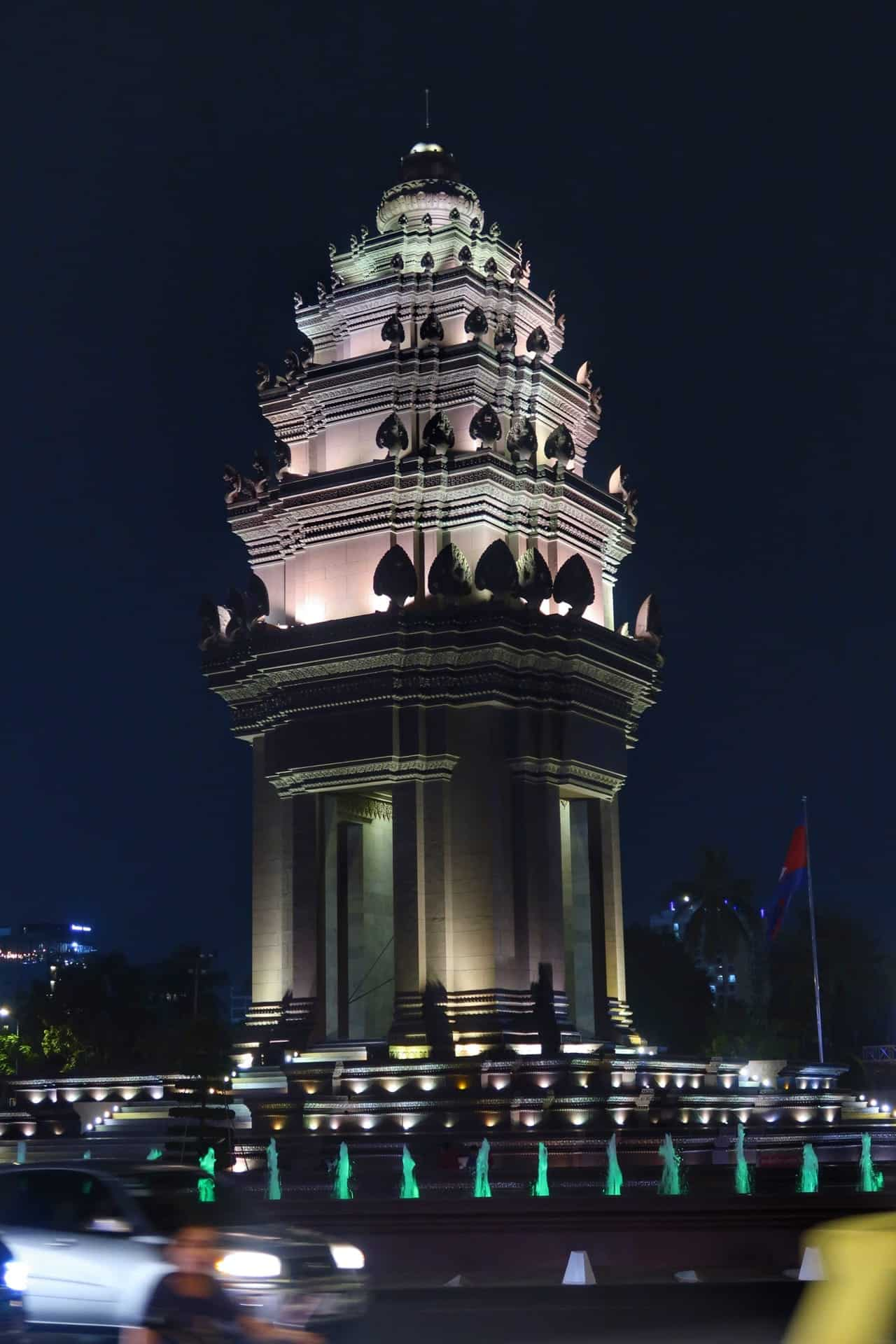 Uafhængigsmonument i Phnom Penh