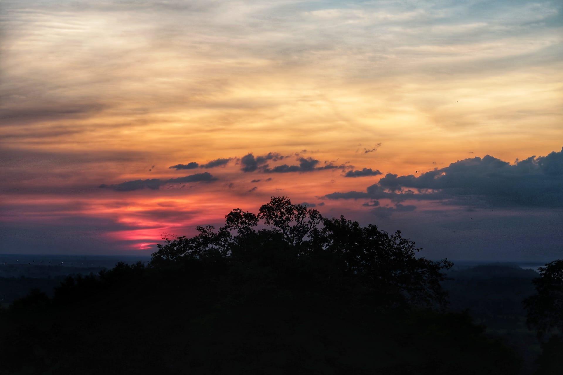 Solnedgang fra Phnom Bakheng 2