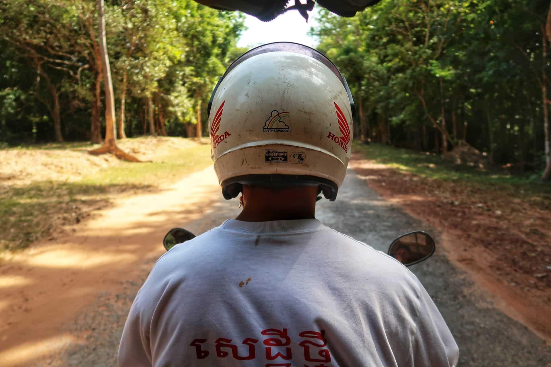 Udsigten fra vores tuktuk
