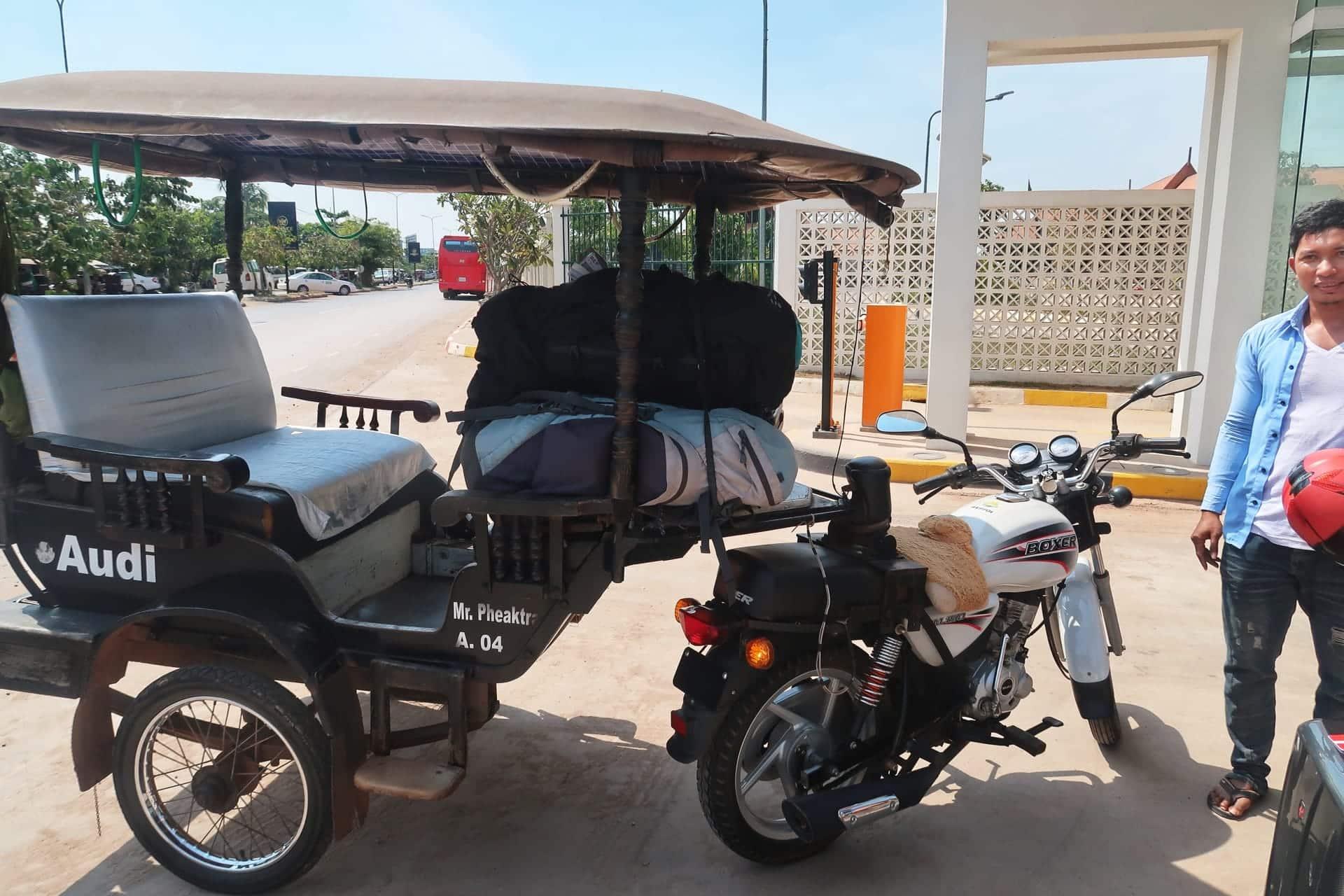 tuktuk fra siem reap lufthavn
